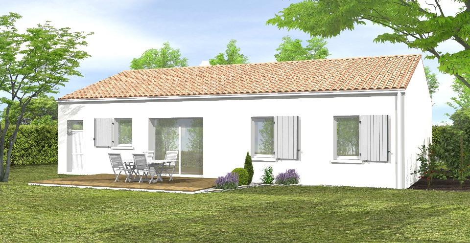 Maisons + Terrains du constructeur LMP CONSTRUCTEUR • 79 m² • JARD SUR MER