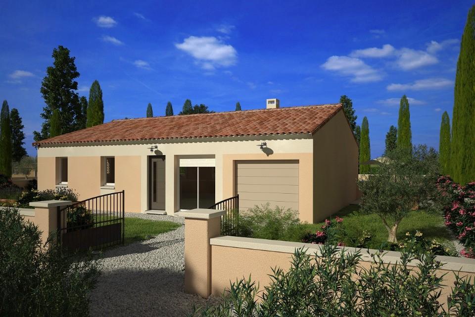 Maisons + Terrains du constructeur LMP CONSTRUCTEUR • 93 m² • CHAMPAGNE LES MARAIS