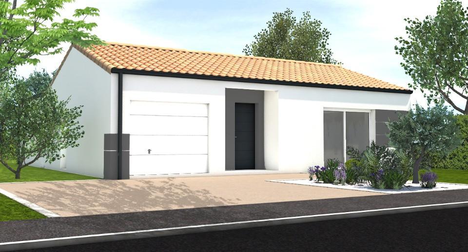 Maisons + Terrains du constructeur LMP CONSTRUCTEUR • 85 m² • LONGEVILLE SUR MER