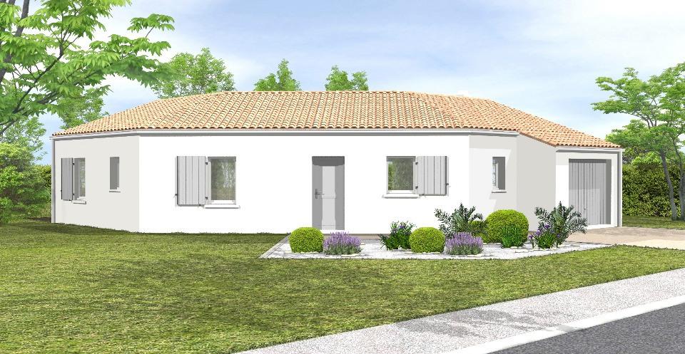 Maisons + Terrains du constructeur LMP CONSTRUCTEUR • 83 m² • VELLUIRE