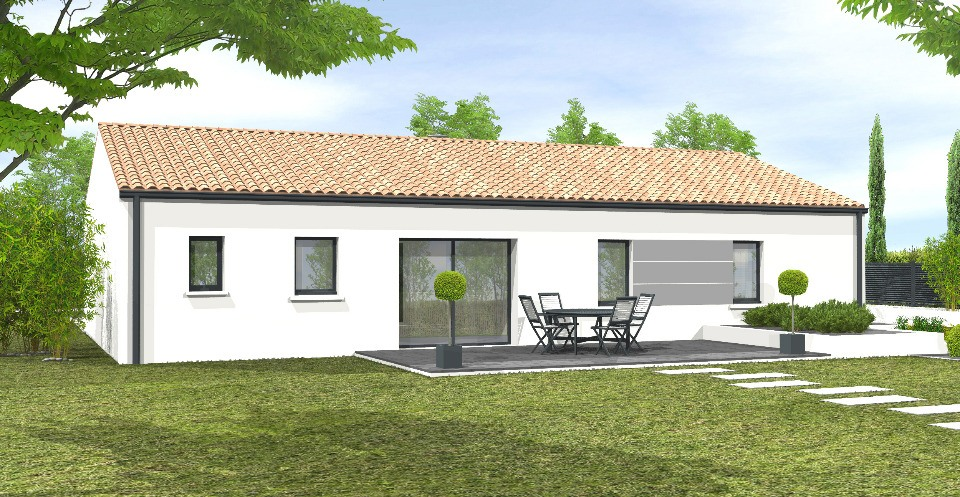 Maisons + Terrains du constructeur LMP CONSTRUCTEUR • 103 m² • L'HERMENAULT
