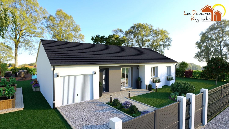 Maisons + Terrains du constructeur LES DEMEURES REGIONALES • 90 m² • AUROUER