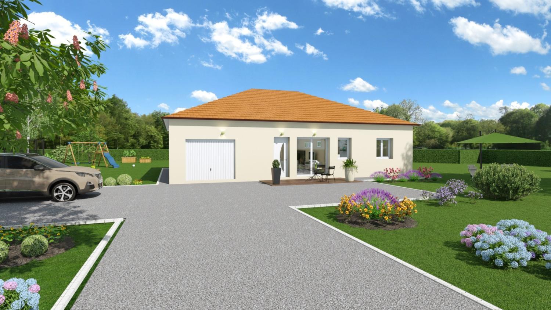 Maisons + Terrains du constructeur LES DEMEURES REGIONALES • 104 m² • CRESSANGES