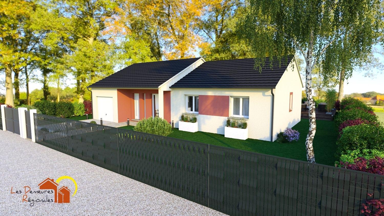 Maisons + Terrains du constructeur LES DEMEURES REGIONALES • 90 m² • YZEURE