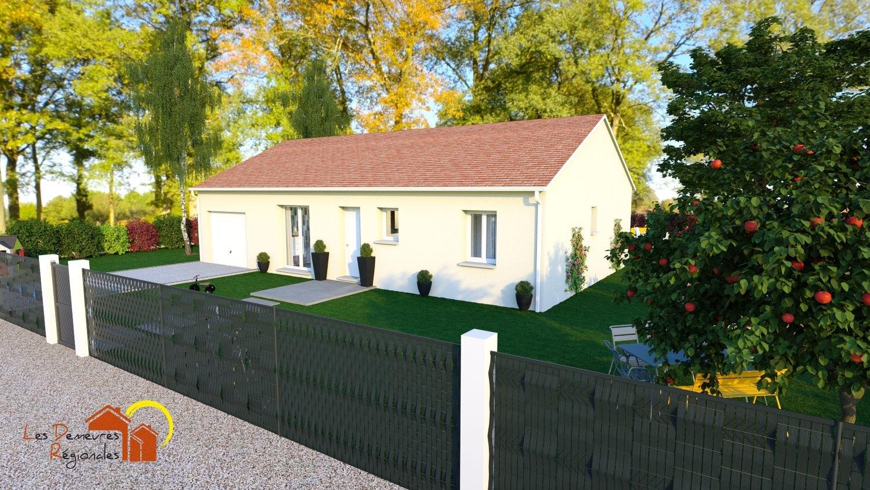 Maisons + Terrains du constructeur LES DEMEURES REGIONALES • 90 m² • AVERMES