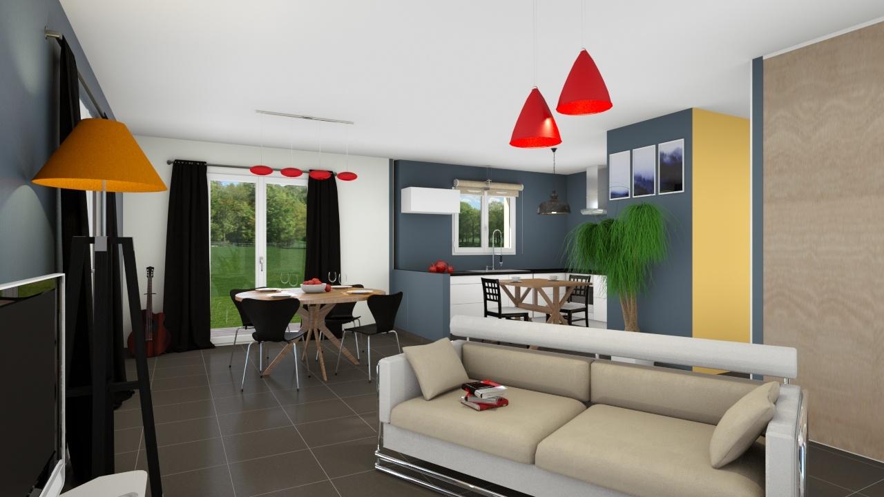 Maisons + Terrains du constructeur LES DEMEURES REGIONALES • 74 m² • AVERMES