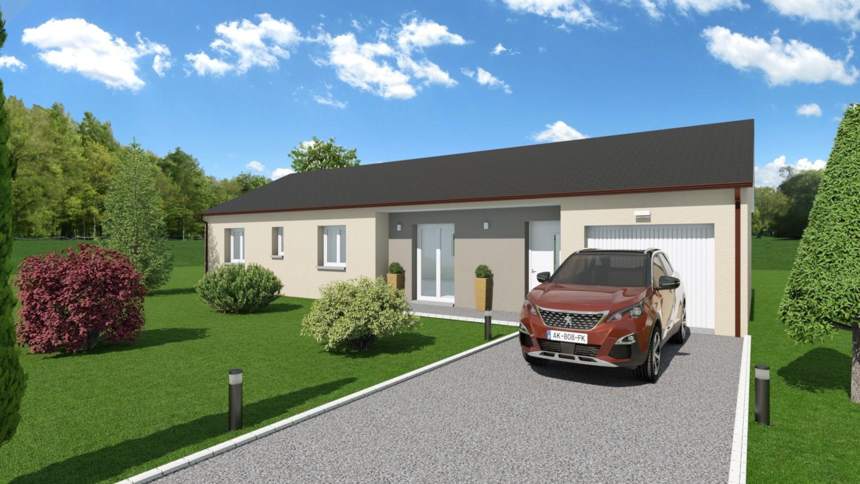 Maisons + Terrains du constructeur LES DEMEURES REGIONALES • 101 m² • GENNETINES