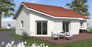 Maisons du constructeur TRADICONFORT 38 • 90 m² • APPRIEU