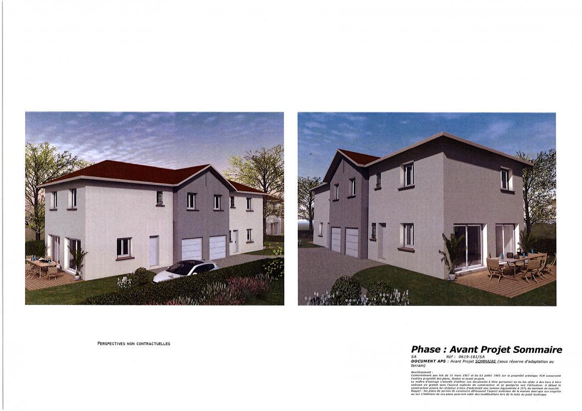 Maisons du constructeur TRADICONFORT 38 • 91 m² • CLAIX