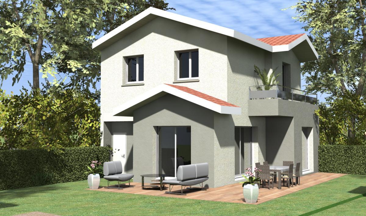 Maisons du constructeur TRADICONFORT 38 • 90 m² • TULLINS