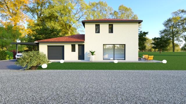 Maisons du constructeur TRADICONFORT 38 • 90 m² • LA MURETTE
