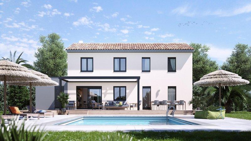 Maisons du constructeur MAISONS D EN FRANCE - SALON DE PROVENCE •  m² • TRETS