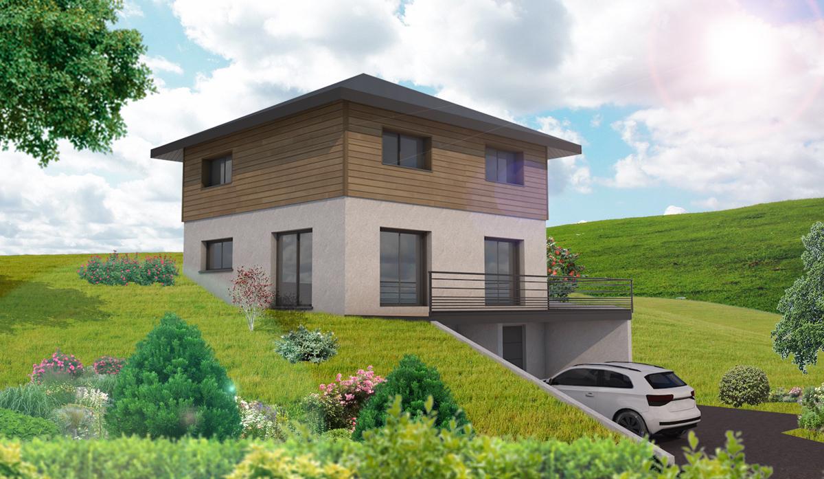 Maisons du constructeur DIMENSION HABITAT • 120 m² • MINZIER