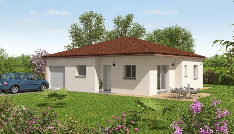 Maisons du constructeur MAISONS BATIDUR • 85 m² • CHAMBORET