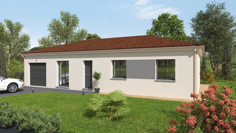 Maisons du constructeur MAISONS BATIDUR • 89 m² • CHATEAUPONSAC