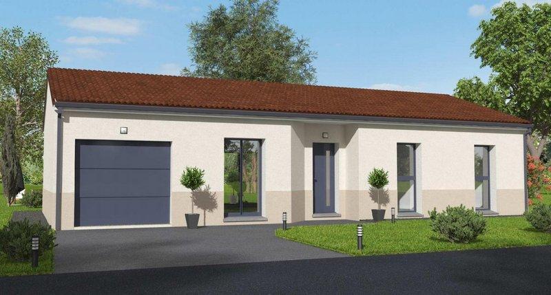 Maisons du constructeur MAISONS BATIDUR • 86 m² • LIMOGES