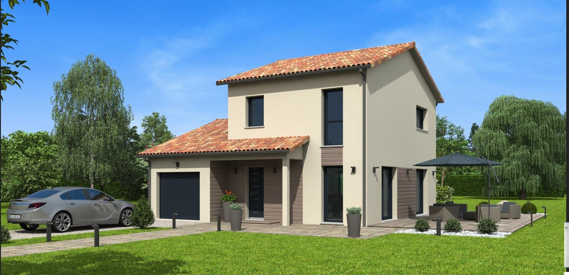 Maisons du constructeur NATILIA AVIGNON • 98 m² • VAISON LA ROMAINE