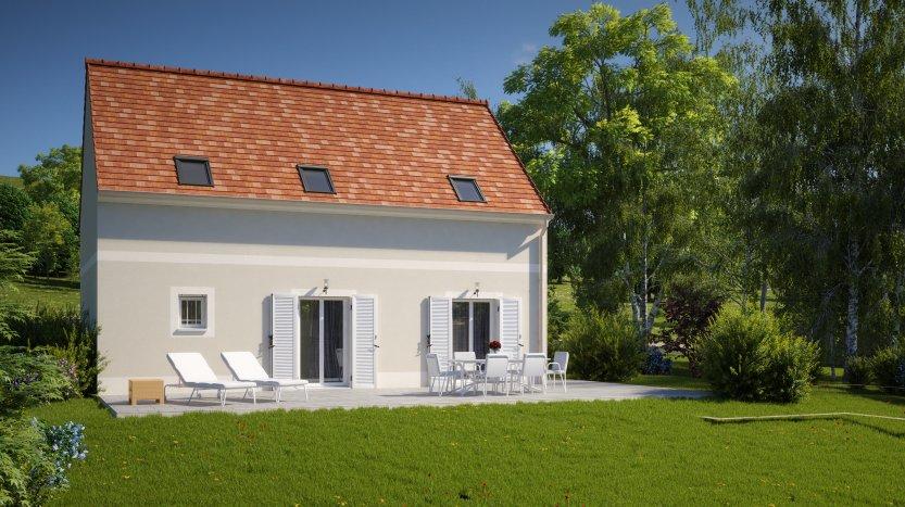 Maisons du constructeur MAISONS PIERRE  BEAUVAIS • 89 m² • SAINT OUEN L'AUMONE