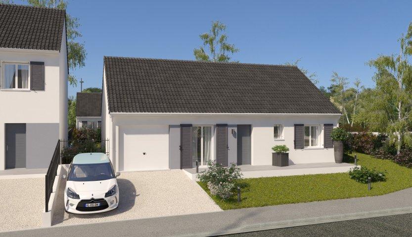 Maisons du constructeur MAISONS PIERRE  BEAUVAIS • 78 m² • SAINT OUEN L'AUMONE