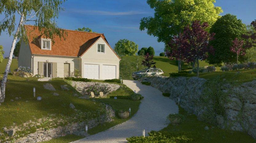 Maisons du constructeur MAISONS PIERRE  BEAUVAIS • 128 m² • GOUVIEUX