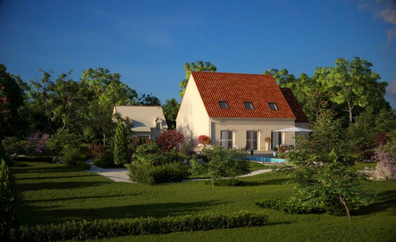 Maisons du constructeur MAISONS PIERRE  BEAUVAIS • 131 m² • CERGY