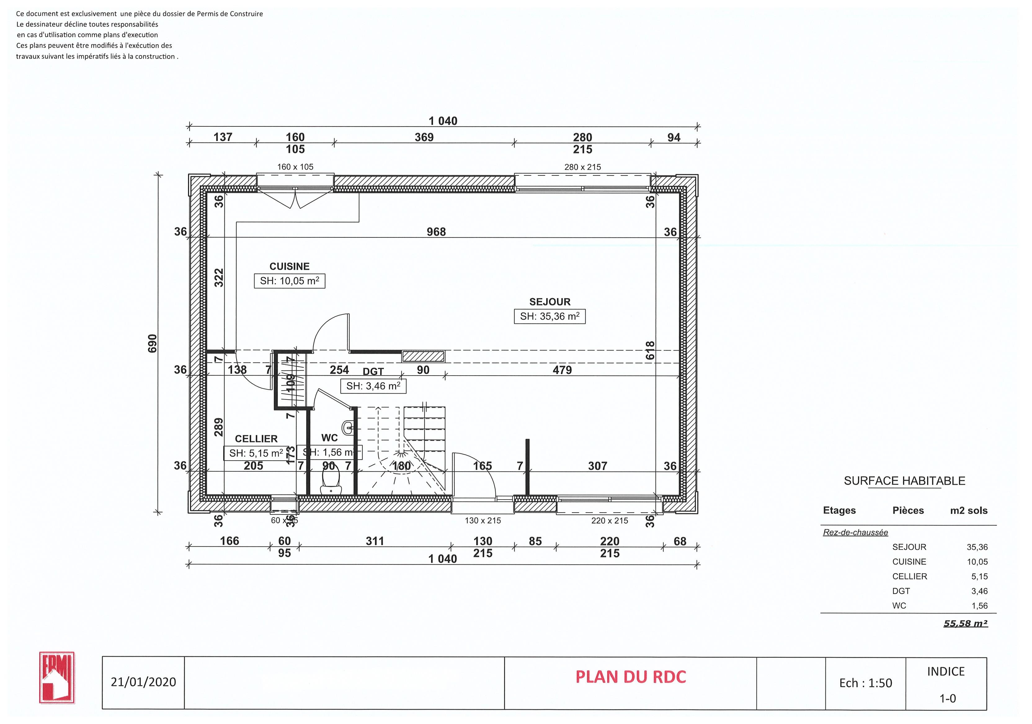 Maisons + Terrains du constructeur MAISONS ERMI • 111 m² • EAUBONNE