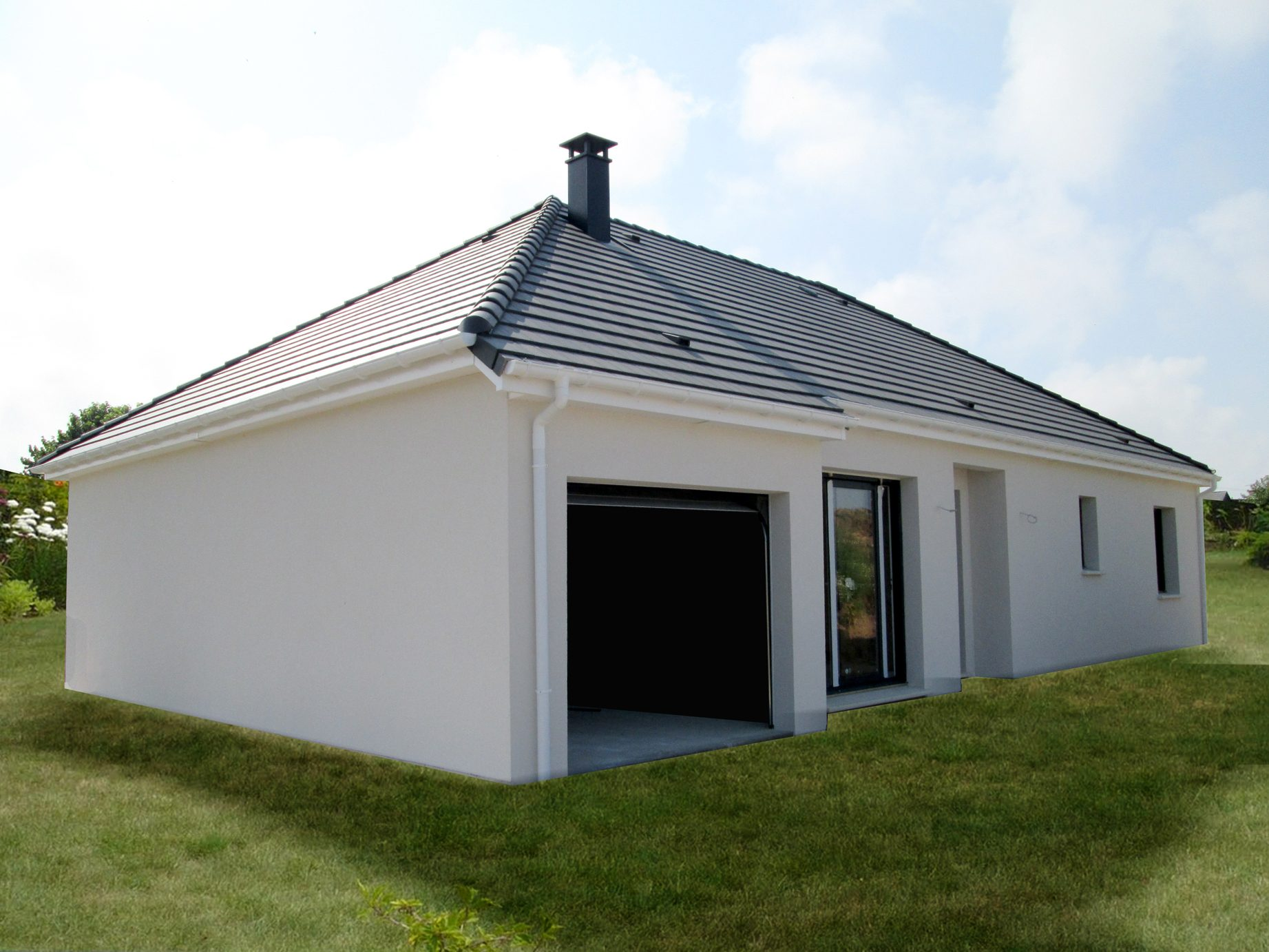 Maisons + Terrains du constructeur MAISON FAMILIALE • 100 m² • ACQUIGNY