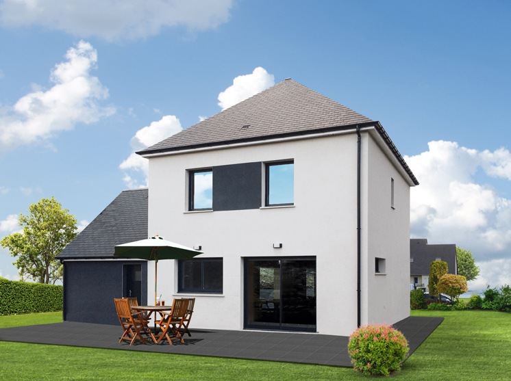 Maisons + Terrains du constructeur MAISON FAMILIALE • 103 m² • SAINT ANDRE DE L'EURE