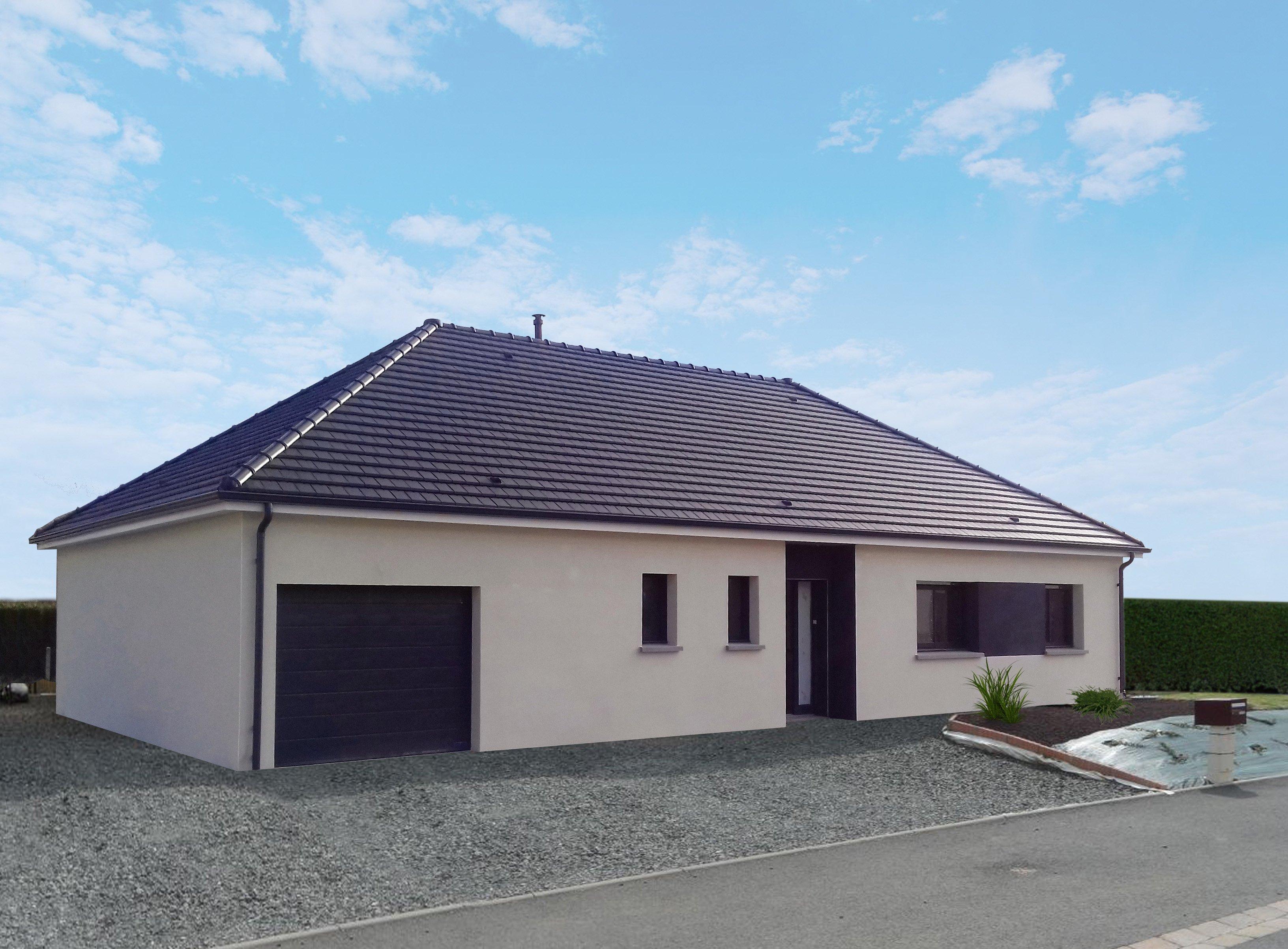 Maisons + Terrains du constructeur MAISON FAMILIALE • 108 m² • COURCELLES SUR SEINE