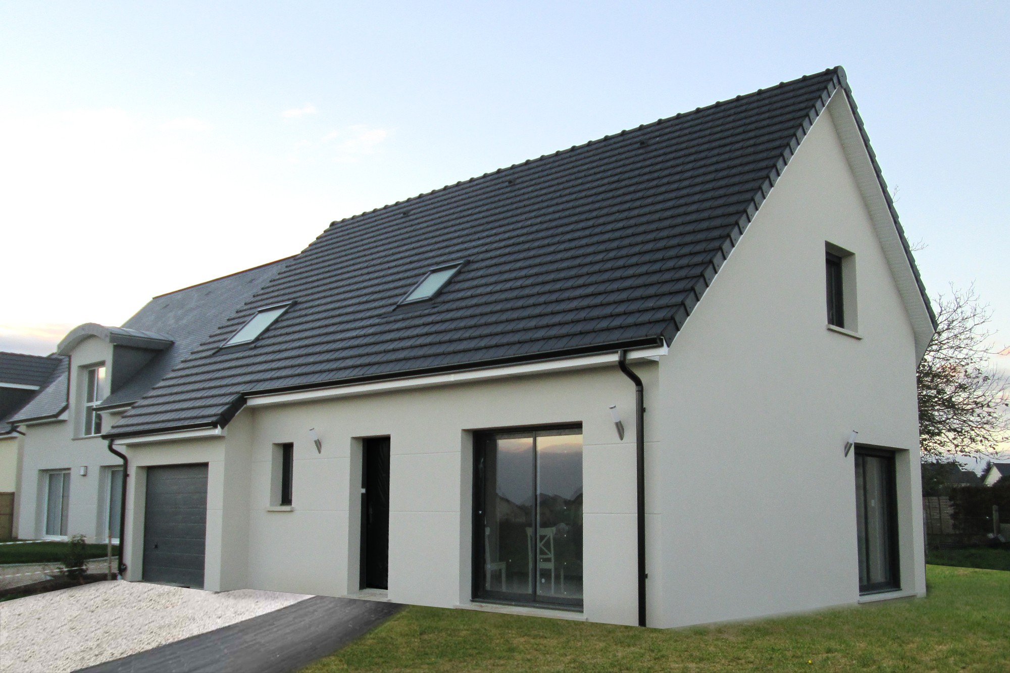Maisons + Terrains du constructeur MAISON FAMILIALE • 110 m² • SAINTE COLOMBE LA COMMANDERIE