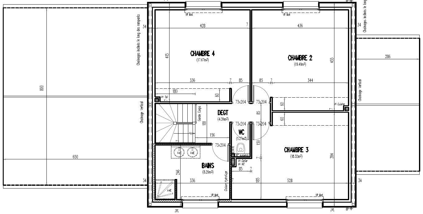 Maisons + Terrains du constructeur GEOXIA NORD OUEST • 154 m² • PACY SUR EURE