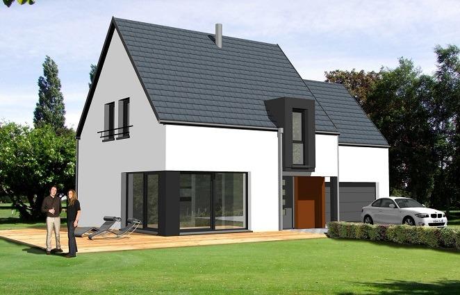 Maisons du constructeur GROUPE BATIGE • 130 m² • RUELISHEIM