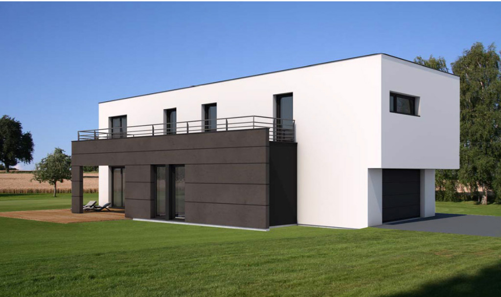 Maisons du constructeur GROUPE BATIGE • 166 m² • LEYMEN