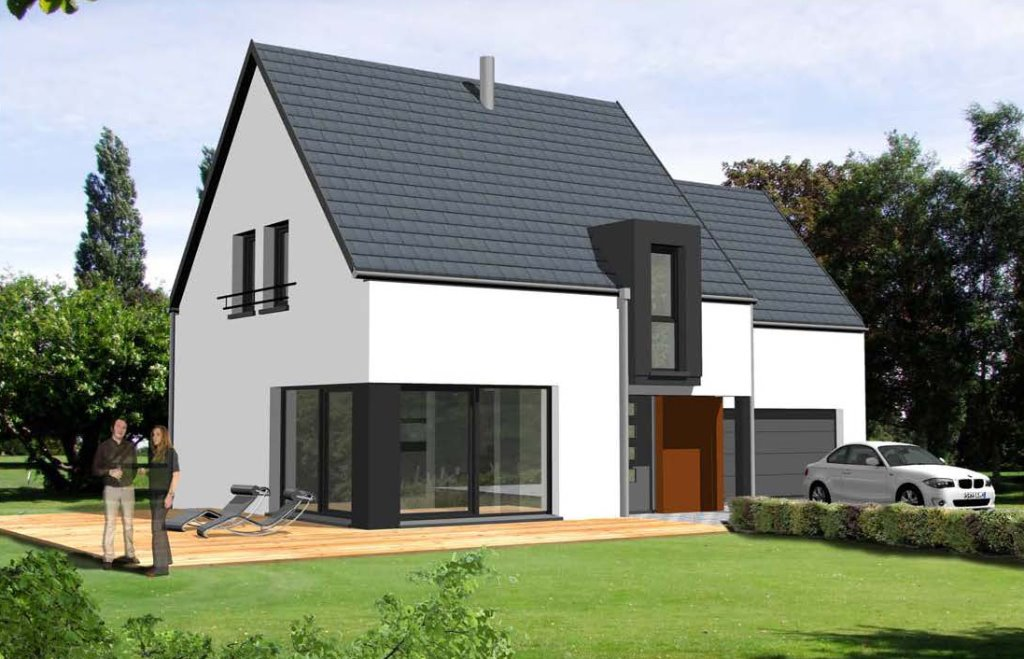 Maisons du constructeur GROUPE BATIGE • 127 m² • WAHLBACH