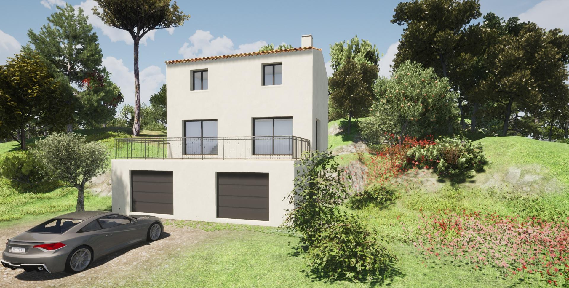 Maisons + Terrains du constructeur SAS MAISONS BLANCHES • 90 m² • SEILLONS SOURCE D'ARGENS