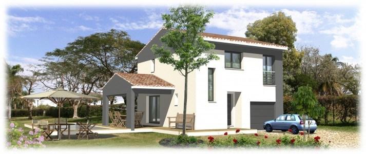 Maisons + Terrains du constructeur SAS MAISONS BLANCHES • 90 m² • TOURVES