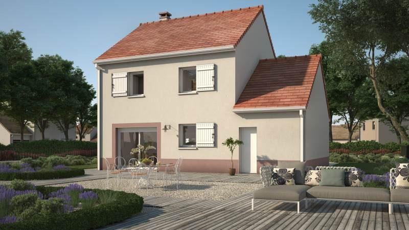 Maisons + Terrains du constructeur MAISONS FRANCE CONFORT • 74 m² • LA MADELEINE SUR LOING