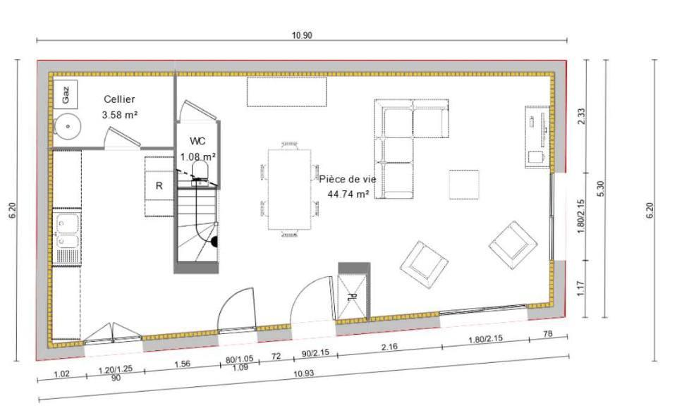 Maisons + Terrains du constructeur MAISONS BALENCY • 96 m² • LA VILLE DU BOIS