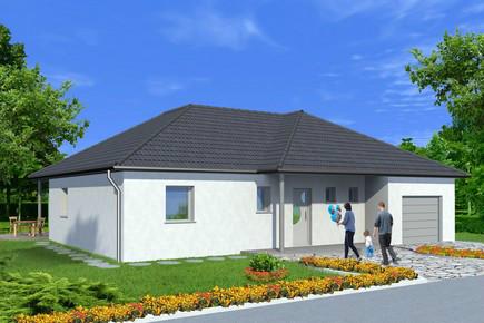Maisons du constructeur ALSAMAISON • 107 m² • OBERHOFFEN LES WISSEMBOURG