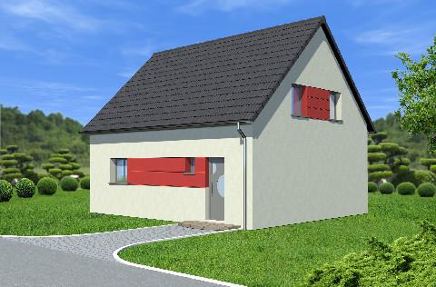 Maisons du constructeur ALSAMAISON • 95 m² • OBERHOFFEN SUR MODER