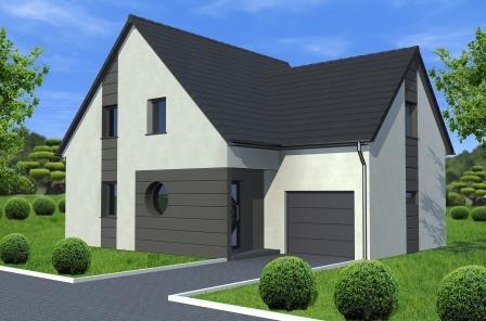 Maisons du constructeur ALSAMAISON • 98 m² • NIEDERBRONN LES BAINS
