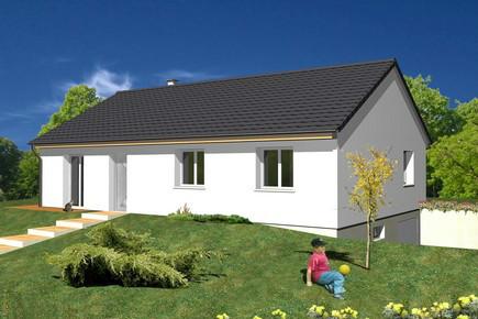 Maisons du constructeur ALSAMAISON • 87 m² • WESTHOUSE MARMOUTIER