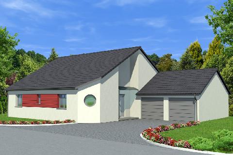 Maisons du constructeur ALSAMAISON • 124 m² • SILTZHEIM