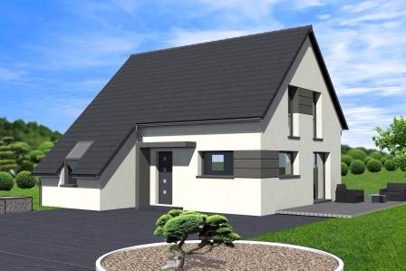 Maisons du constructeur ALSAMAISON • 103 m² • OBERLAUTERBACH