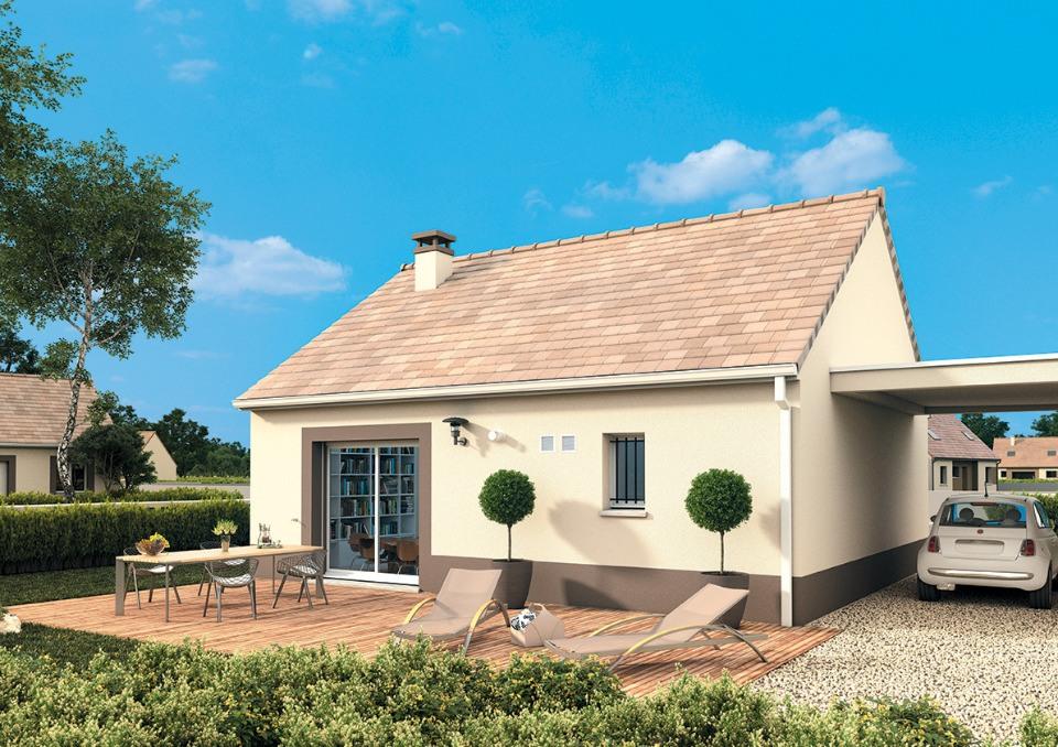 Maisons + Terrains du constructeur MAISONS FRANCE CONFORT • 55 m² • CRIQUETOT L'ESNEVAL