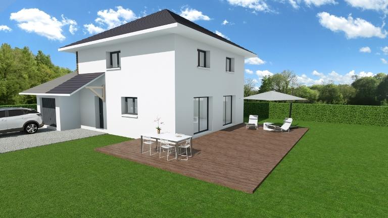 Maisons + Terrains du constructeur MCA • 120 m² • CERNEX
