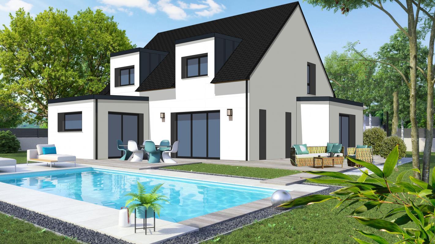 Maisons + Terrains du constructeur CONSTRUCTIONS DU BELON • 123 m² • PLOEREN