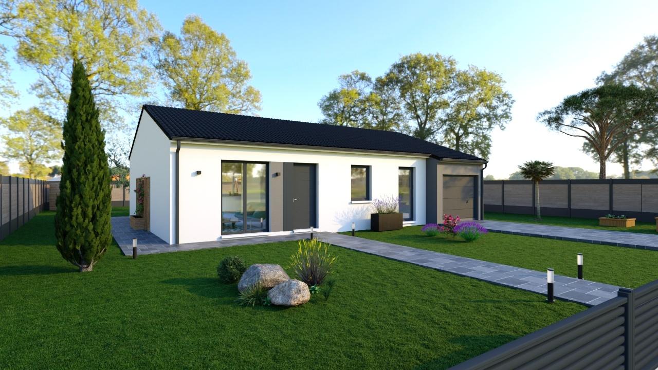 Maisons + Terrains du constructeur Maisons Phénix La Rochelle • 104 m² • LANDRAIS