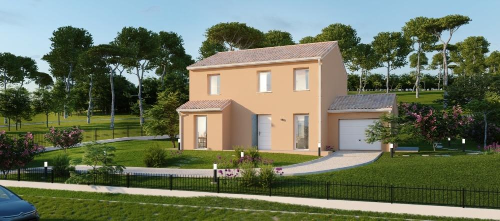 Maisons + Terrains du constructeur Maisons Phénix La Rochelle • 137 m² • BARBEZIEUX SAINT HILAIRE