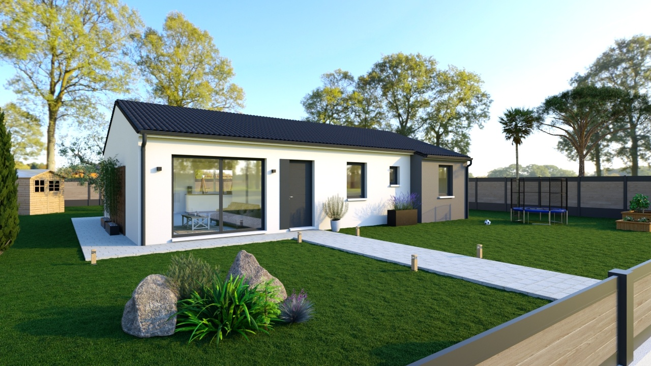 Maisons + Terrains du constructeur Maisons Phénix La Rochelle • 105 m² • BALLON